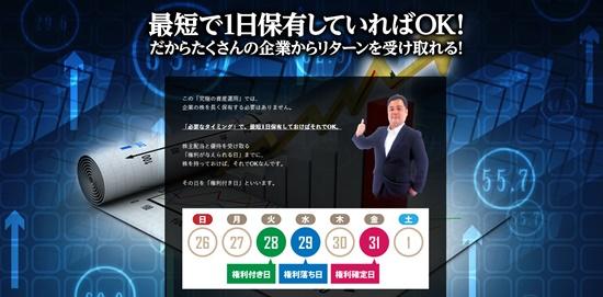 石井和夫株主優待シグナル配信